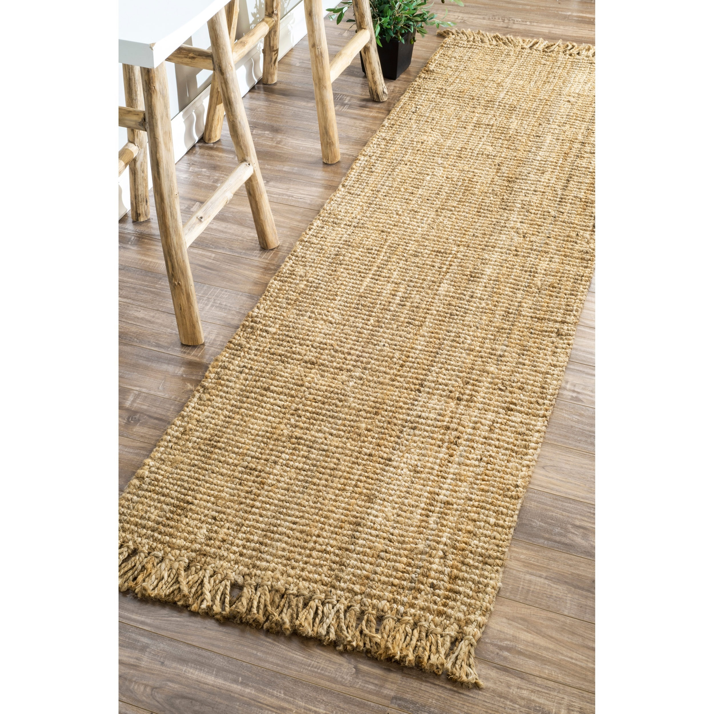 jute little chunky rug glass new room dining jar