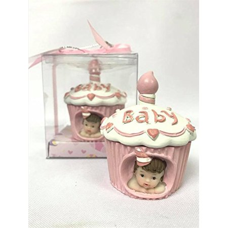 Baby Cake Cupcake Girl Cake Topper Favor Souvenir for 1st Birthday-Baby Shower