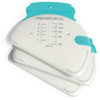 Nanobebe Breast Milk Storage Bags - 50ct