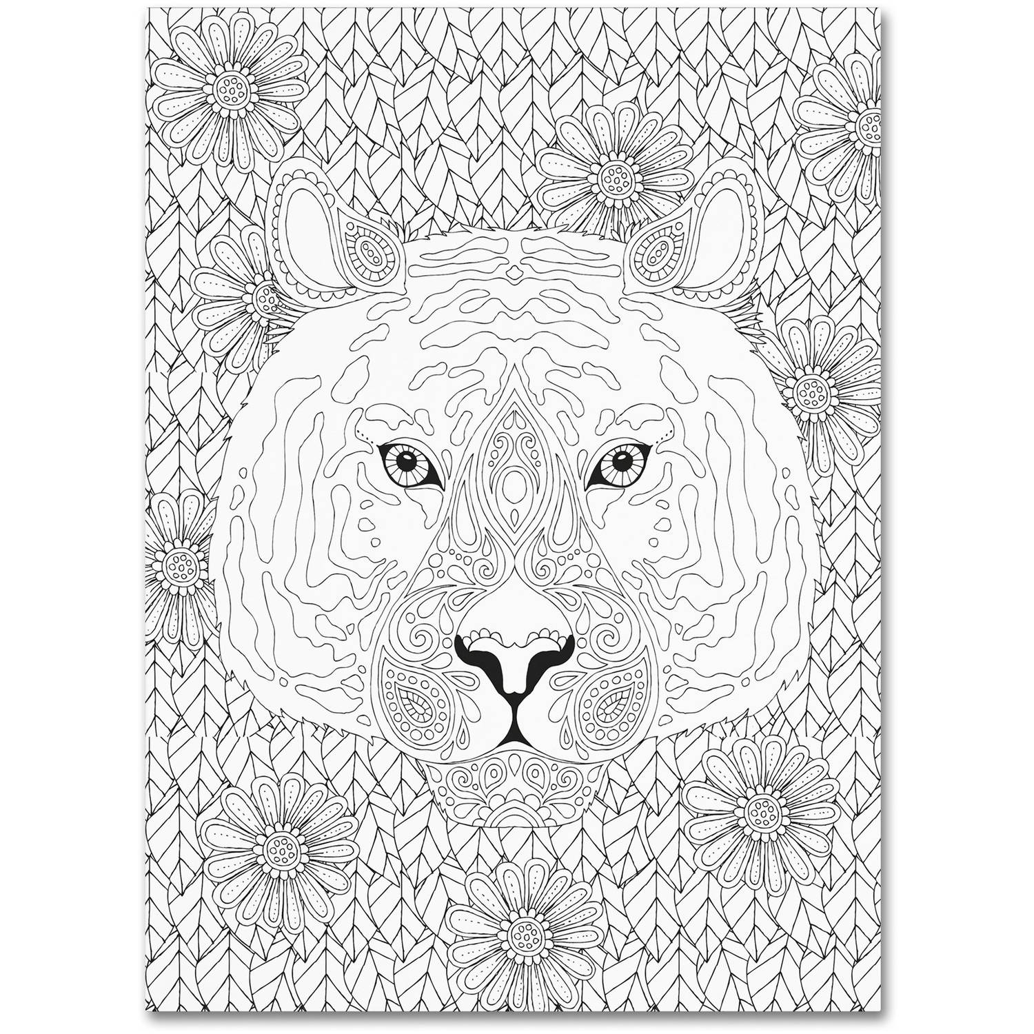 "Trademark Fine Art ""Animals 27"" Canvas Art by Hello Angel"