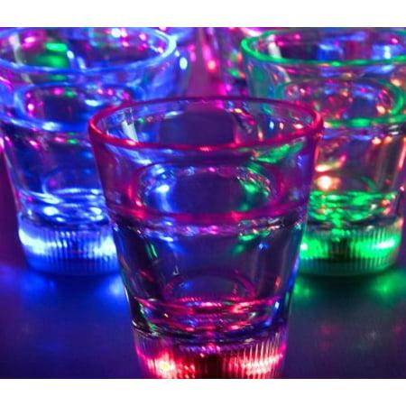 Led Shot Glasses (Multicolor LED Shot Glass, Brand (Quantity =12), By)