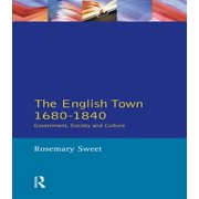 The English Town, 1680-1840 - eBook