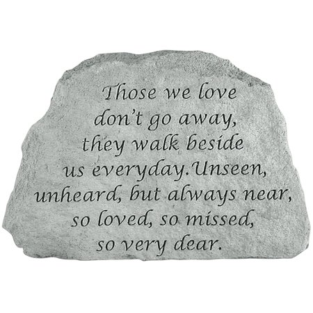 Those We Love Memorial Stone - Remember Them Indoors Or Outdoors In Garden