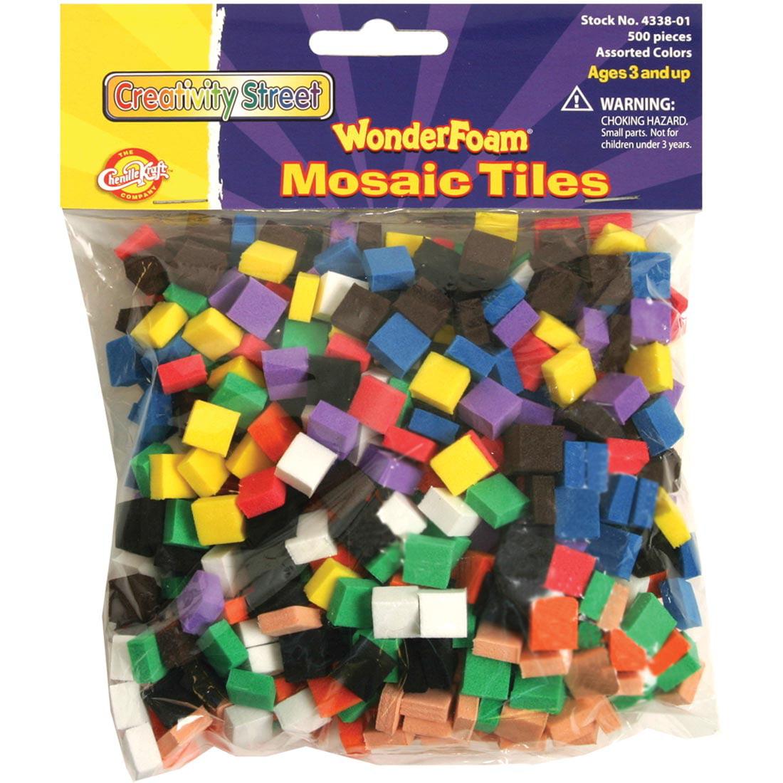 Creativity Street WonderFoam Mosaic Tiles