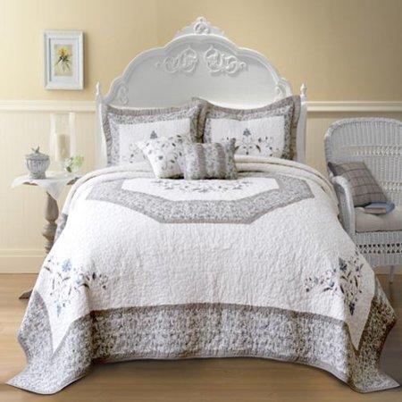 Nostalgia Home Agnes Cotton Bedspread Twin Walmart Com