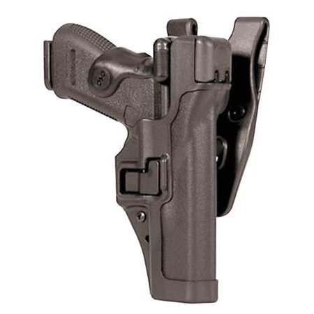 BLACKHAWK! Serpa Level 3 44H117BK-L Holster Heckler & Koch P30 Black