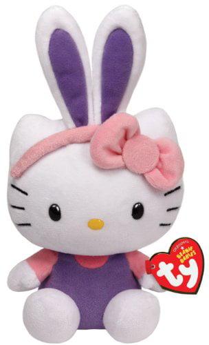 Ty Hello Kitty Purple Bunny Ears by TY