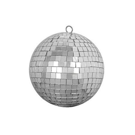 Northlight Silver Splendor Mirrored Glass Disco Ball Christmas Ornament, 5.5