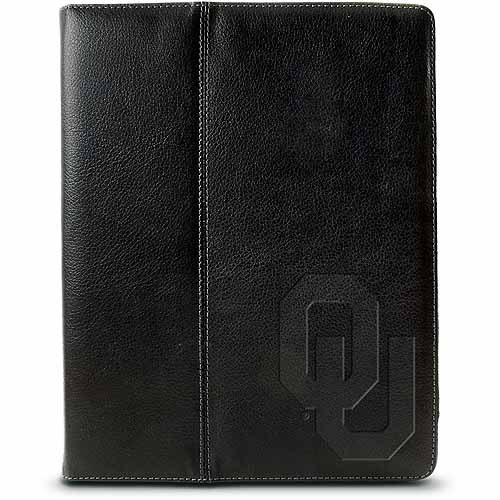 Centon iPad Leather Folio Case University of Oklahoma