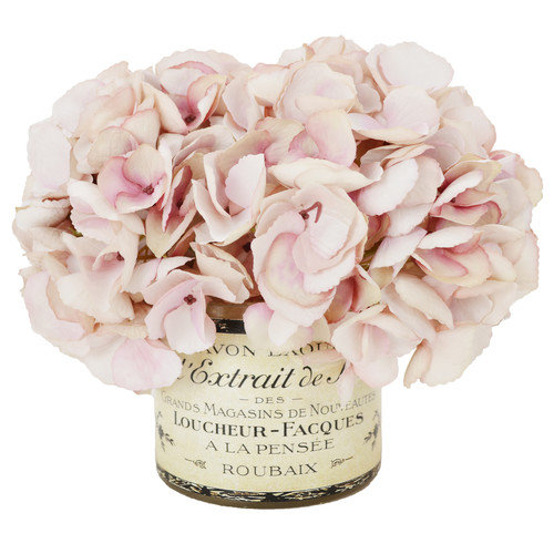 Creative Displays, Inc. Green Hydrangea Bouquet in a French Label Pot