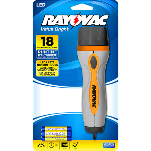 Rayovac Brilliant Solutions 3 AAA-Cell Flashlight