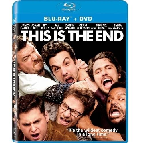 This Is The End (Blu-ray + DVD) (With INSTAWATCH)