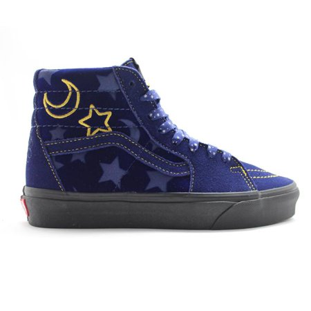 Mens Vans x Disney Sorcerer's Apprentice Navy Blue Gold Black VN0A38GE - Vans Disney Kids