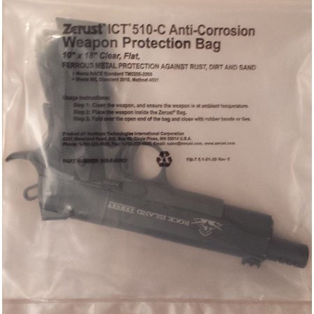 Weapon Protection Bag with Zerust Rust Prevention and Protection 10