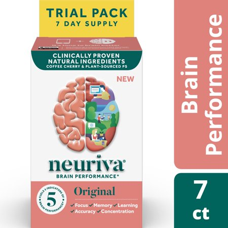 Neuriva Original (7 Count), Brain Performance Supplement