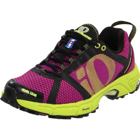 Pearl Izumi 3d - Pearl iZUMi Women's Syncro Fuel Trail II Running Shoe,Orchid/Lime,5 D US