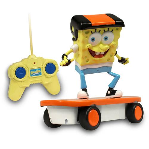 NKOK SpongeBob 49 MHz Skateboarder R C Vehicle by NKOK
