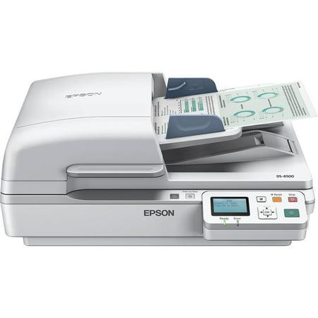 Epson, EPSB11B205221, WorkForce DS-6500 Document Scanner, 1 Each, White ()