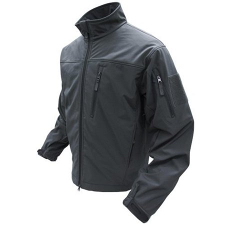 Condor Phantom Soft Shell Jacket (Black, Large)