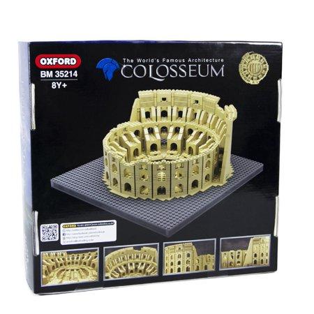 OXFORD BLOCKS COLOSSEUM OF ROME Architecture Series Compatible Building Brick