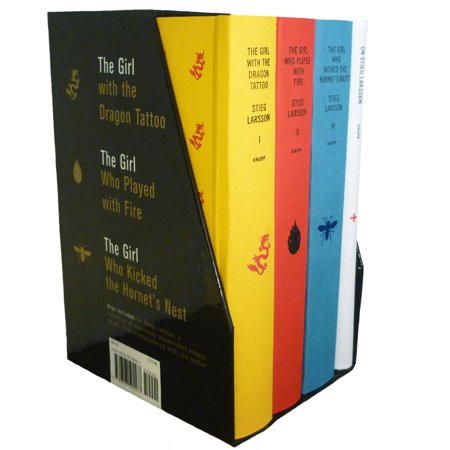 Stieg Larsson's Millennium Trilogy Deluxe Box Set : The Girl with the Dragon Tattoo, The Girl Who Played with Fire, The Girl Who Kicked the Hornet's Nest, Plus On Stieg