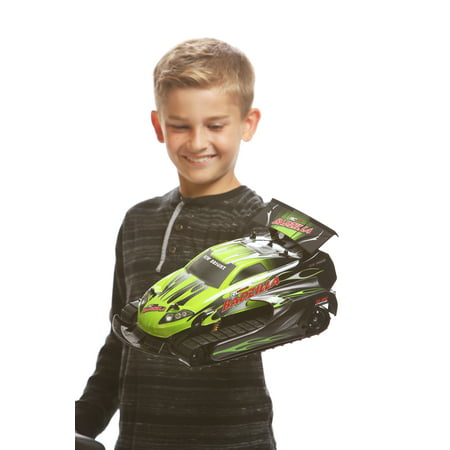 Green Rc Models (New Bright 1:14 Scale RC PRO BADZILLA - Green )