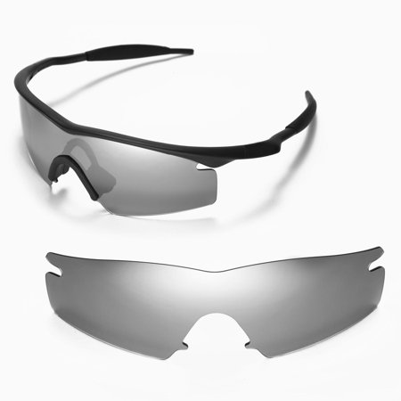 605eb71f8e Walleva Titanium Polarized Replacement Lenses For Oakley M Frame Strike  Sunglasses