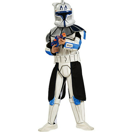 Star Wars Clonetrooper Rex Deluxe Halloween Child Costume](Kids Starwars Costumes)