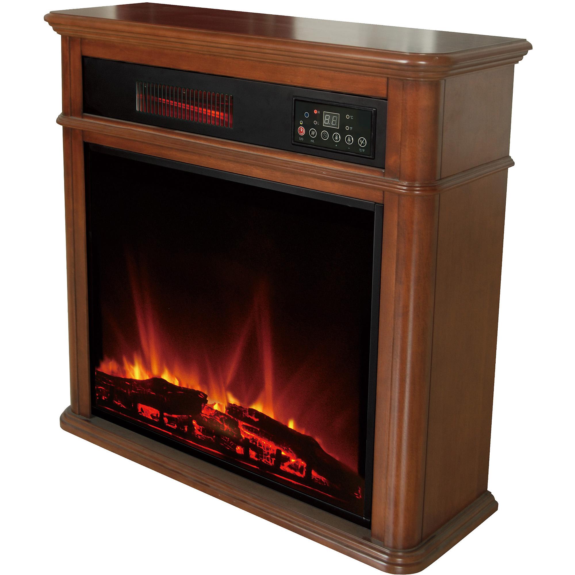 Hearth Trends Dayton Infrared Fireplace - Walmart.com