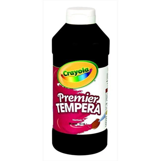 Crayola Artista Ii Non-Toxic Washable Tempera Paint, Black, Quart