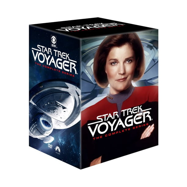 Where Is This Christmas Lights Star Trek Voyager Front Yard 2020 Star Trek Voyager: The Complete Series (DVD)   Walmart.