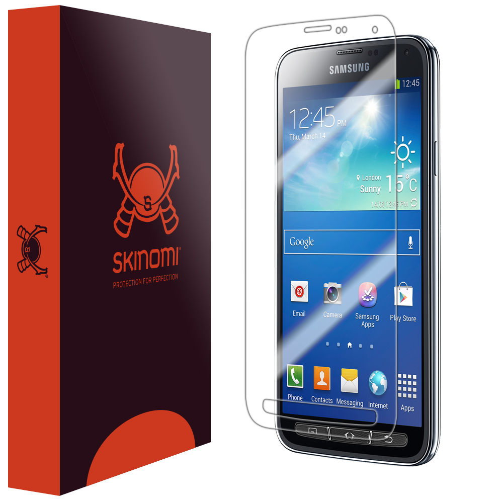 Skinomi Ultra Clear Shield Screen Protector Film for Samsung Galaxy S5 Active