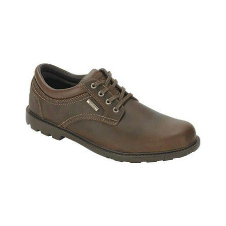Men's Rockport Rugged Bucks Waterproof Plain Toe Mens Plain Toe Boots