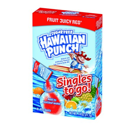 Halloween Alcoholic Punch Mixes (Hawaiian Punch Singles To-Go Drink Mix, Fruit Juicy Red, .75 Oz, 20 Packets, 1)