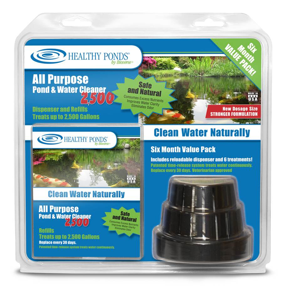 All Purpose Pond and Water Cleaner Value Pack by Bioverse Inc