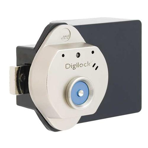 DIGILOCK T30-619-L-GR01 Electronic Lock,Brushed Nickel,12 Button