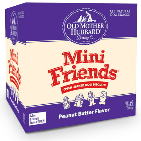 Old Mother Hubbard Mini Friends Dog Treats, 20 (Old Mother Hubbard Training Treats)