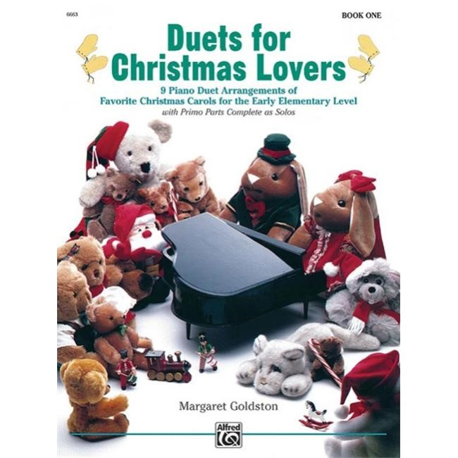 Duets for Christmas Lovers - Book 1 - Piano - Early Elementary