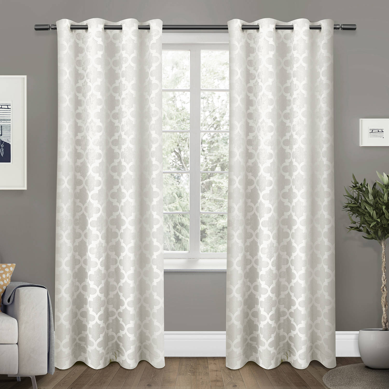 Exclusive Home Cartago Insulated Woven Blackout Window Curtain Panel Pair With Grommet Top