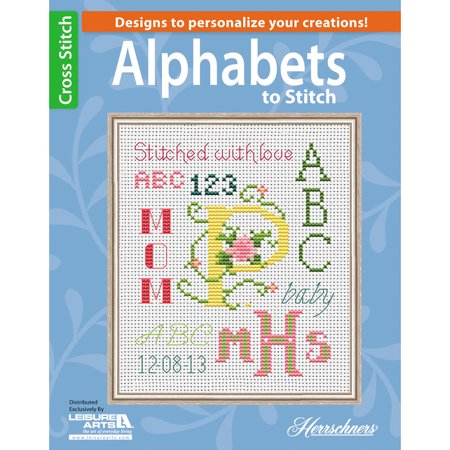 Leisure Arts-Alphabets To Stitch