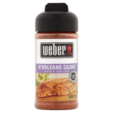 (2 Pack) Weber N'Orleans Cajun Seasoning, 5.00 oz (Best Store Bought Cajun Seasoning)