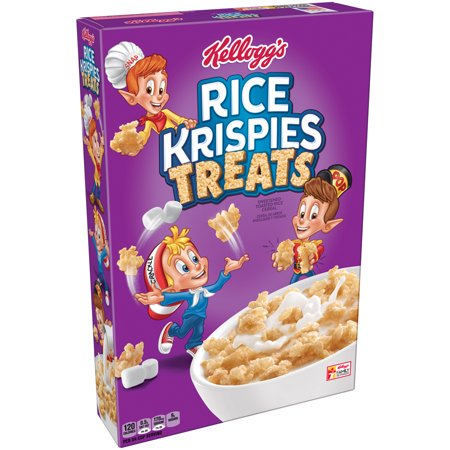 (3 Pack) Kellogg's Rice Krispies Treats Breakfast Cereal, 11.6 Oz