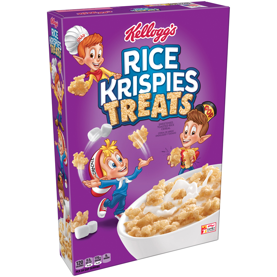 Kellogg's Rice Krispies Treats Breakfast Cereal, 11.6 Oz