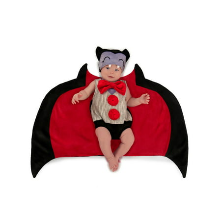 Swaddle Wings™ Baby Bat Halloween Costume - Bat Halloween Costume Wings