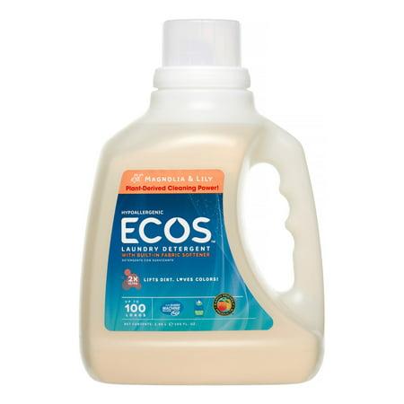 ECOS Laundry Detergent Magnolia & Lily, 100.0 FL (Ecos Magnolia)