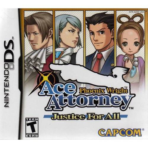 Phoenix Wright: Justice for All (DS)
