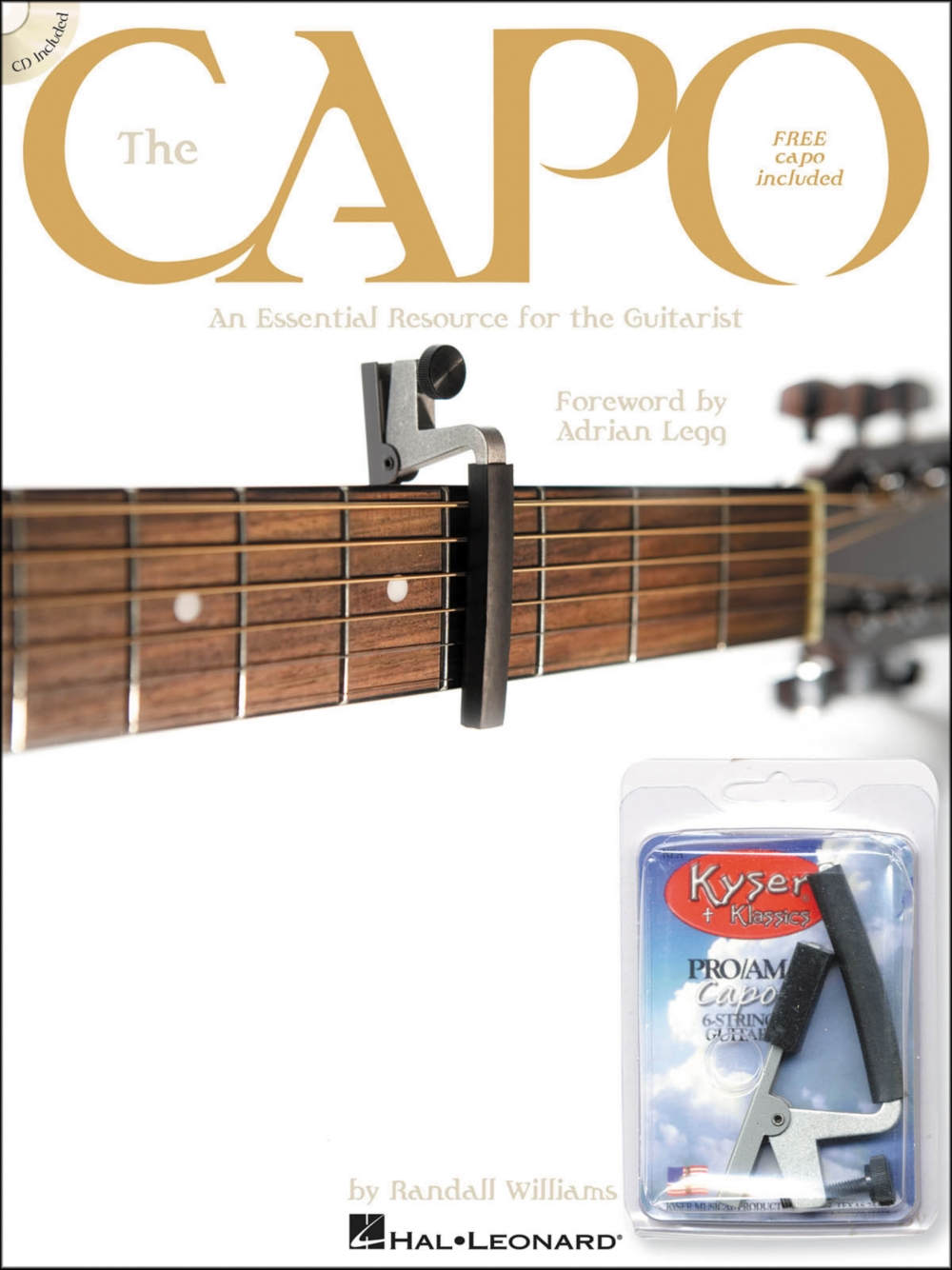 Hal Leonard The Capo Book with CD & Free Kyser Capo by Hal Leonard