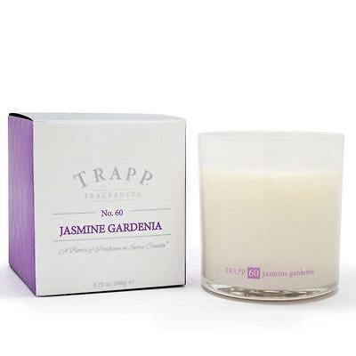Trapp Candle Flowers - Trapp Candles No 60-Jasmine Gardenia-8.75 Oz Poured Candle