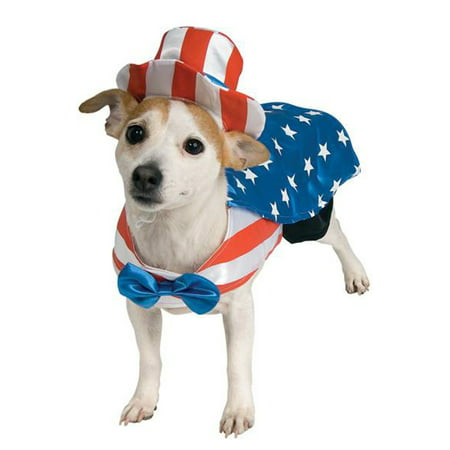 Uncle Sam Pet Costume - Sam And Cat Halloween Full