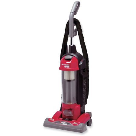 - Sanitaire Sanitaire True HEPA Commercial Vacuum Cleaner - Bagless - Wand, Hose, Brush, Upholstery Tool - 15